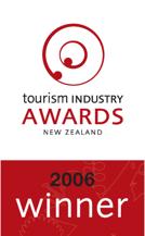 tourism industry awards new zealand 2006 winner