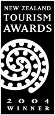 new zealand tourism awards 2004 winner