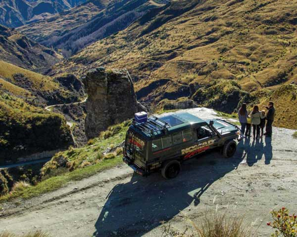 Skippers Canyon 4WD